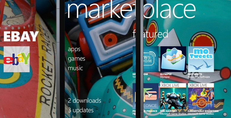 Windows Phone 7 marketplace catalog preview