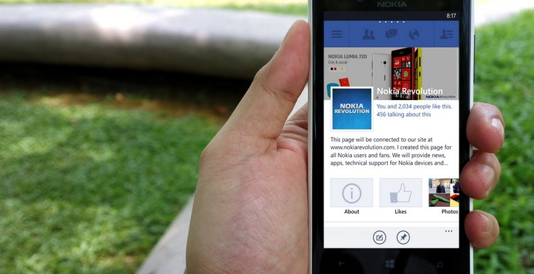 Facebook App Update 5.2.1 for Windows Phone Brings New Tiles and Feature Improvements