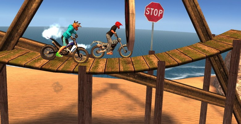 New innovations and Revolutionary gameplay marks the entry of Racing of Trial Xtreme 3 on WP