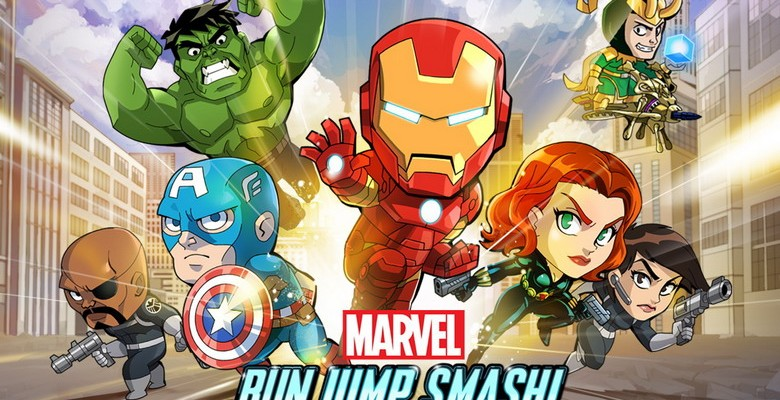 Windows Phone gets Marvel's Avengers Run Jump Smash!