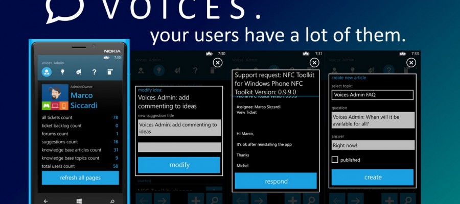 Voices Admin Gives More Options For UserVoice Admins
