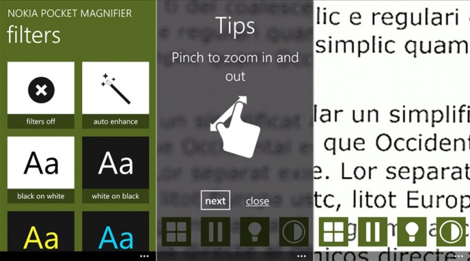 New Nokia News: Pocket Magnifier App, Glance Update, And More