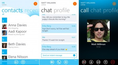 Skype App for Windows Phone Gets a Makeover as Windows 8.1 is Announced