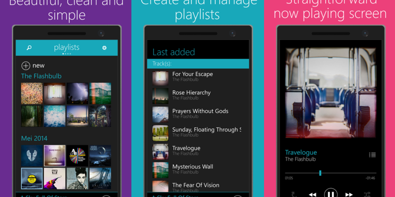 OneMusic is a Clean, Customizable Music Player for Windows Phone