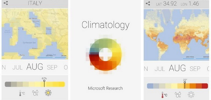 Discover the Weather Anywhere and Anytime of the Year with Climatology App for Windows