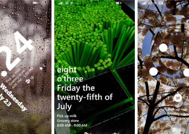 Microsoft App Live Lock Screen Lands on the Windows Phone Store with a Beta Tag