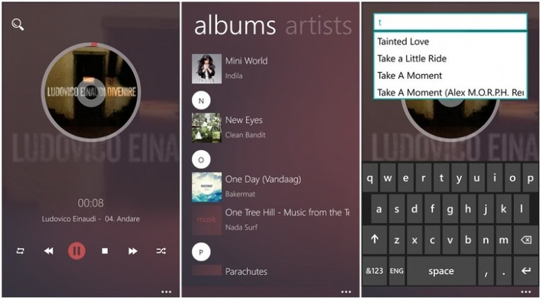 MusikPlayer Windows Phone