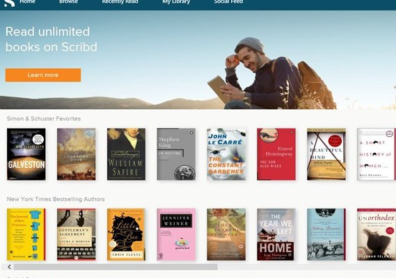 Read Unlimited Books on Your Windows Phone with Scribd