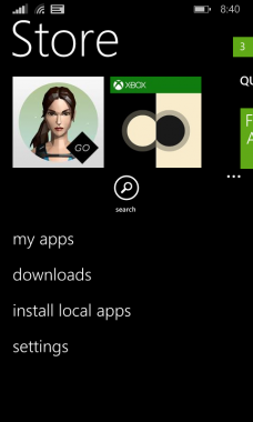 Install local apps