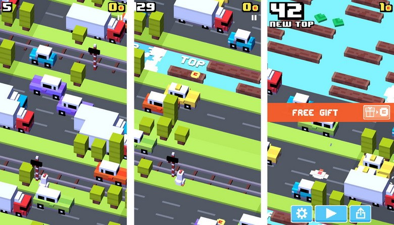 Crossy Road Windows Phone Games