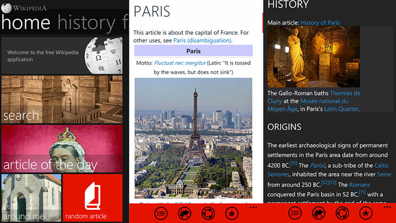 Wikipedia Best Windows Phone Apps